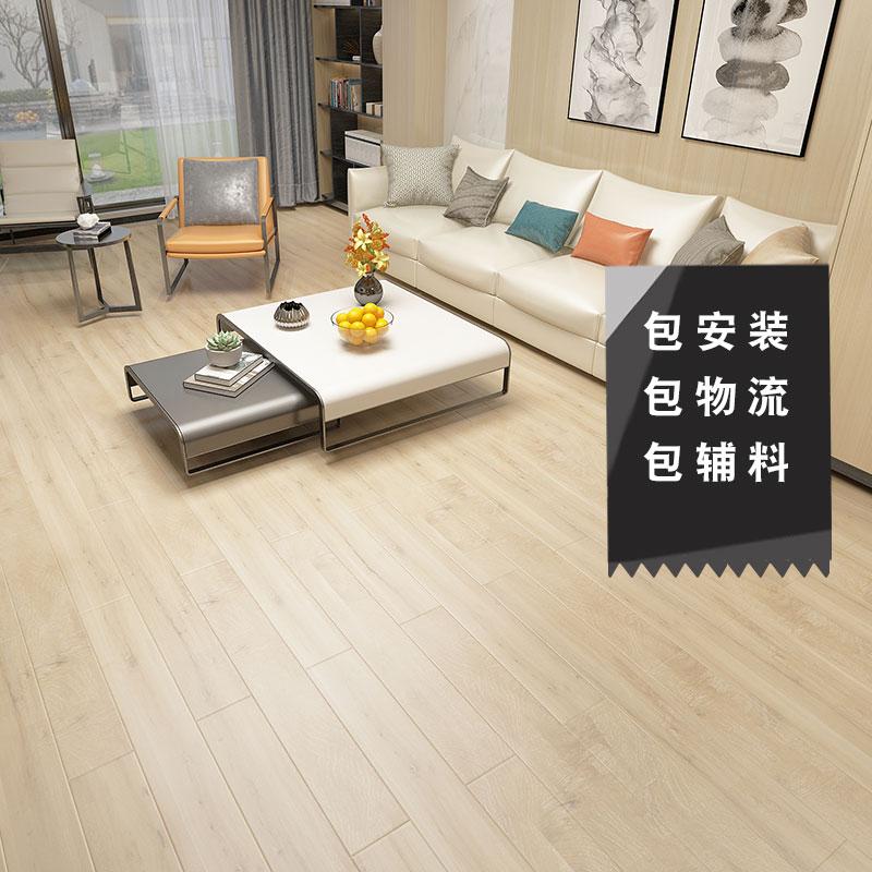 欧式家用复古防水耐磨e0环保地暖家装卧室多层实木复合木地板15mm
