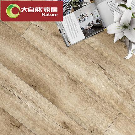 个性木地板厂家直销服装店灰色耐磨复古工业工程彩色强化复合地板