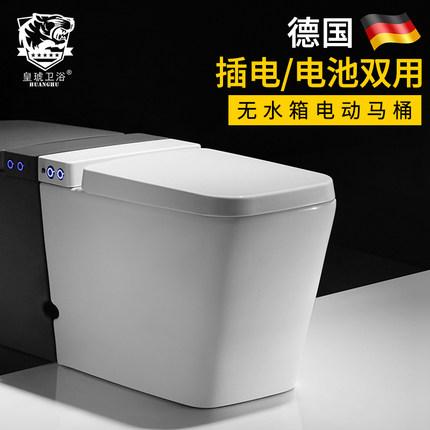 新品马桶家用卫生间陶瓷小户型成人坐便器电动超漩式抽水普通座便