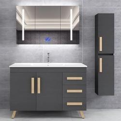 浴室柜洗手盆脸盆柜组合智能北欧现代简约卫浴落地式卫生间洗漱台
